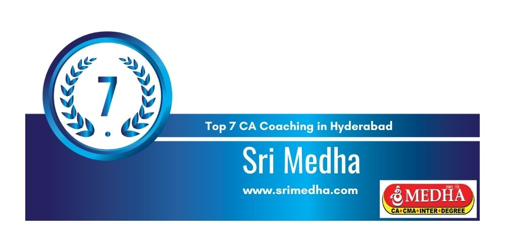 Rank 7 in Ca Coaching in Hyderabad