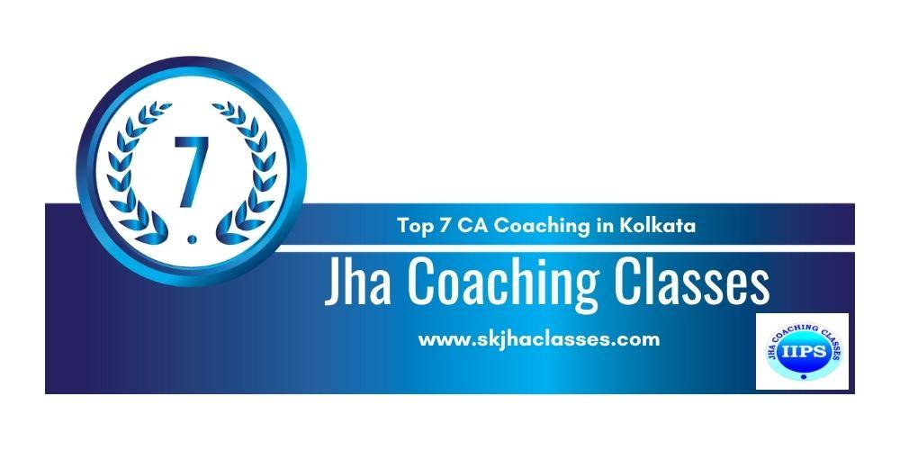 Rank 7 in Ca Coaching in Kolkata