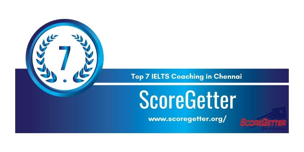 Rank 7 in Top 7 IELTS Coaching in Chennai