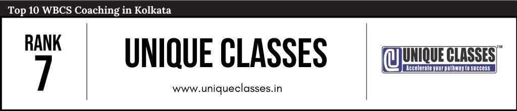 Rank 7 in WBCS Coaching in Kolkata