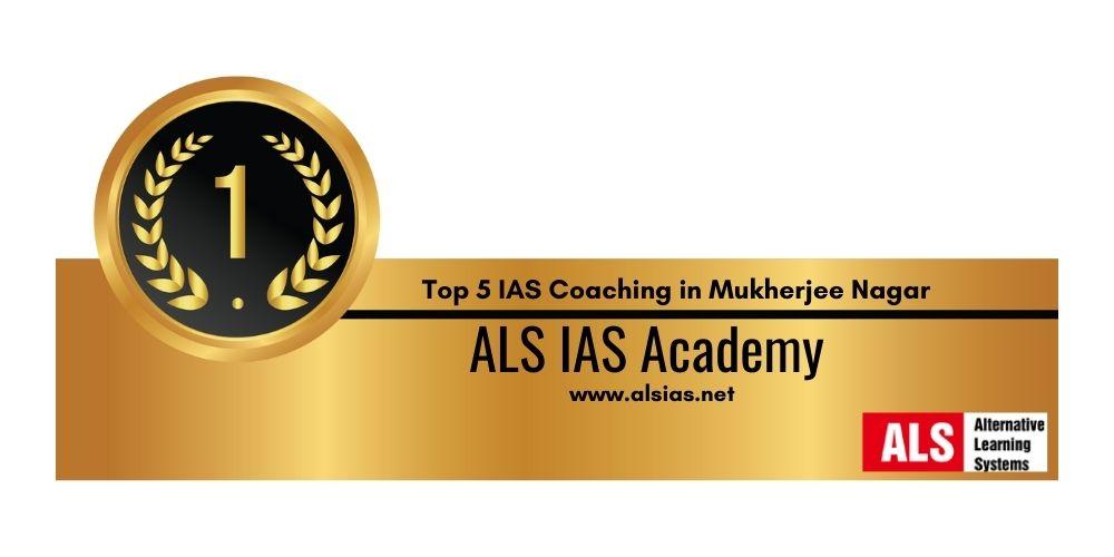 IAS institute in Mukherjee Nagar 1