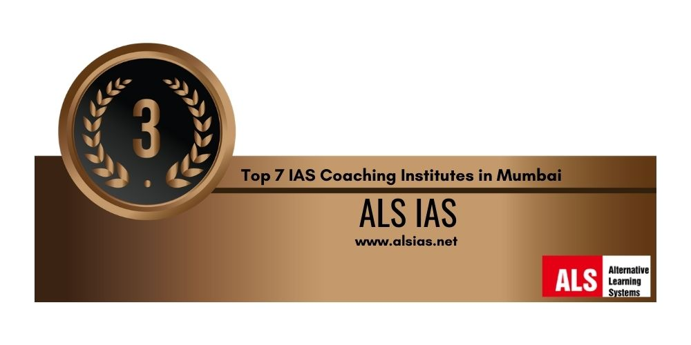 IAS Coaching in Mumbai Rank 3
