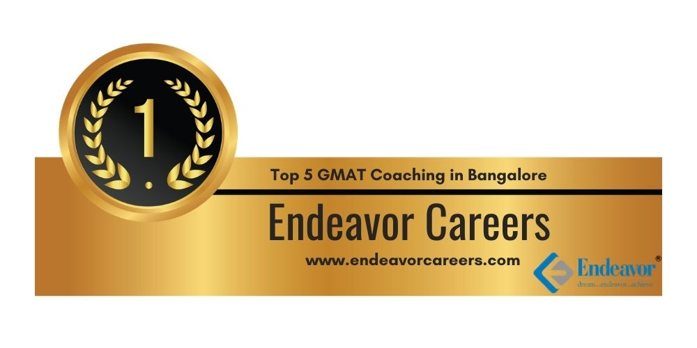 Rank 1 in Top 5 GMAT Coaching in Bangalore