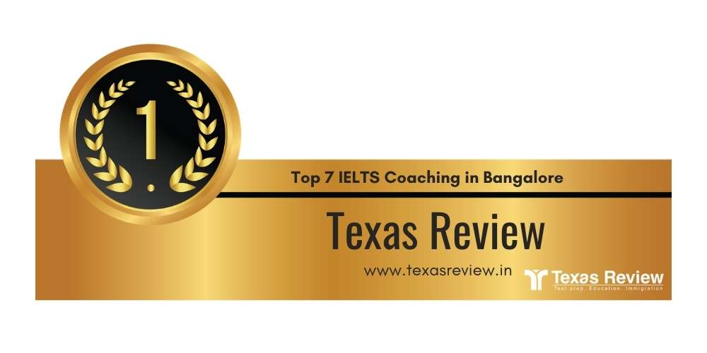 Rank 1 in Top 7 IELTS Coaching in Bangalore.