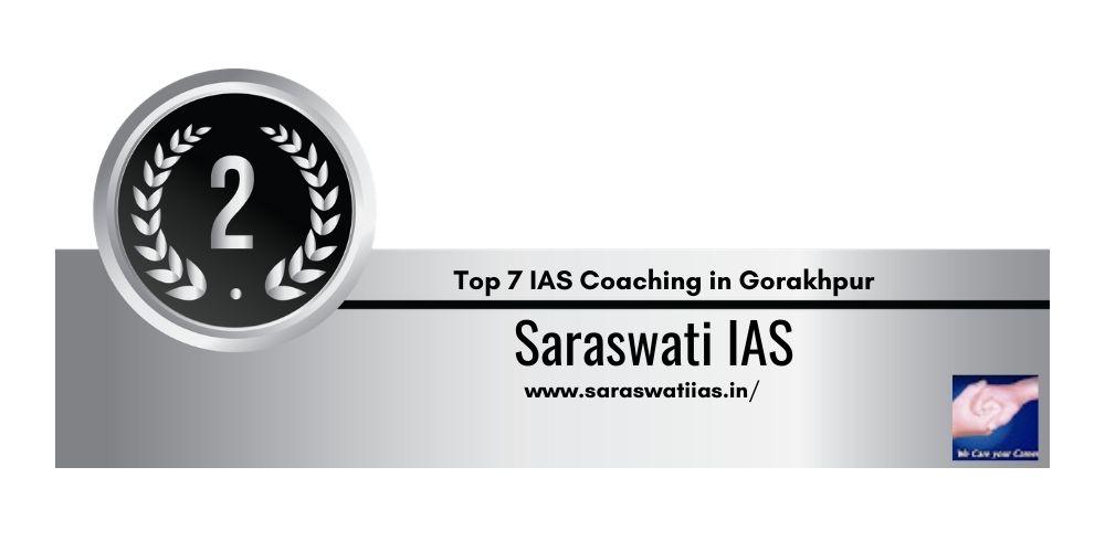 Rank 2 One of the Best UPSC Coaching in Gorakhpur
