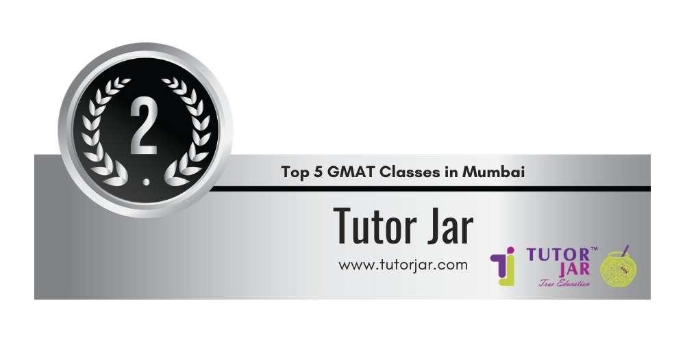 Rank 2 in Top 5 GMAT Classes in Mumbai.