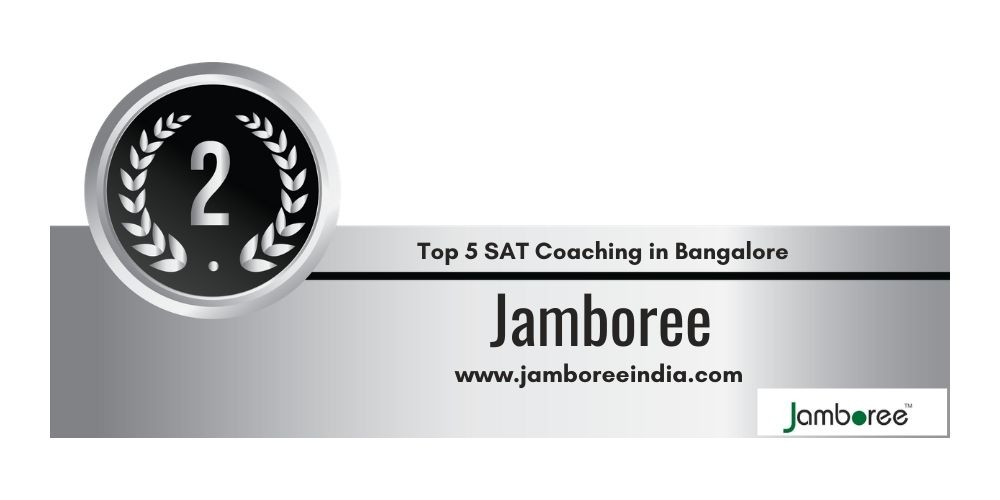 Rank 2 in Top 5 SAT Coaching in Bangalore