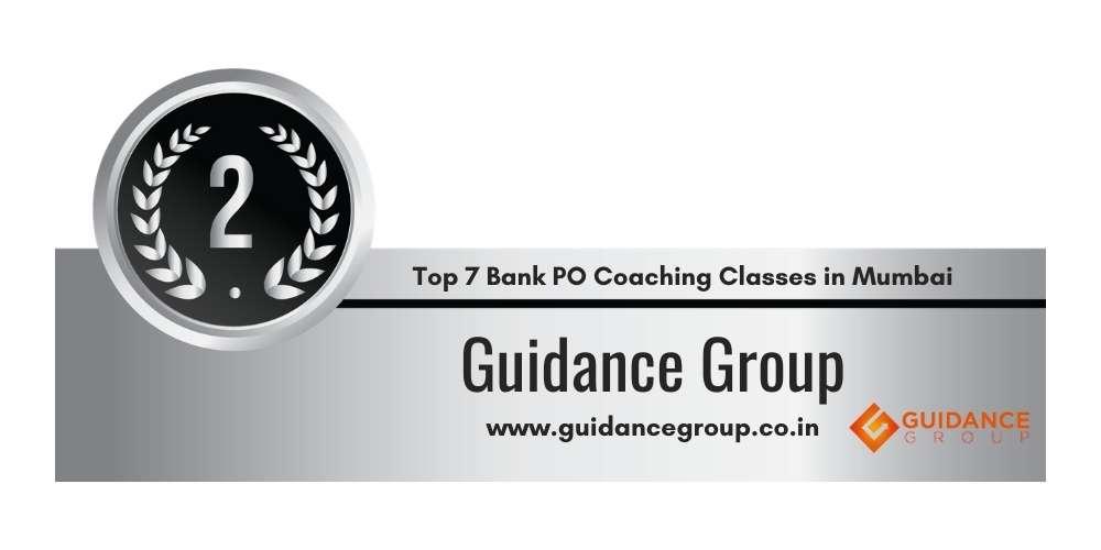 Rank 2 in Top 7 Bank PO Coaching Classes in Mumbai.