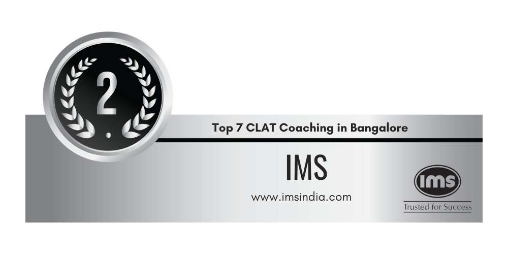 Rank 2 in Top 7 CLAT Coaching in Bangalore.