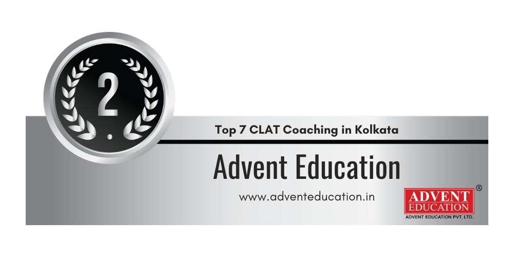 Rank 2 in Top 7 CLAT Coaching in Kolkata.