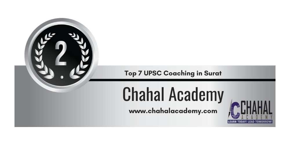Rank 2 in Top 7 UPSC Coaching in Surat.