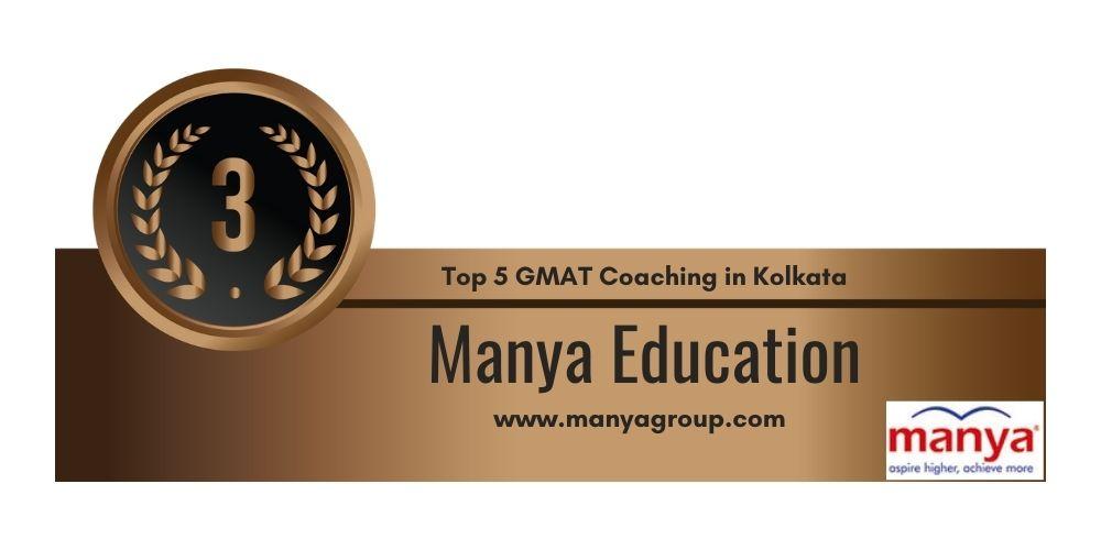 Rank 3 in Top 5 GMAT Coaching in Kolkata