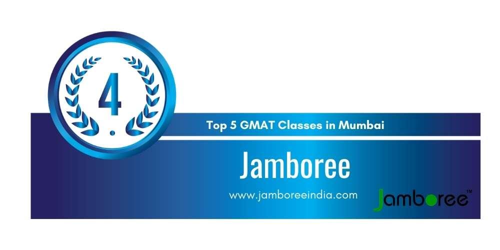 Rank 4 in Top 5 GMAT Classes in Mumbai.