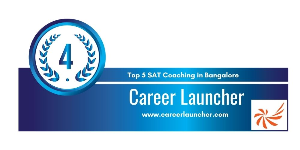 Rank 4 in Top 5 SAT Coaching centers in Bangalore