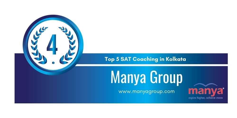 Rank 4 in Top 5 SAT Coaching in Kolkata.