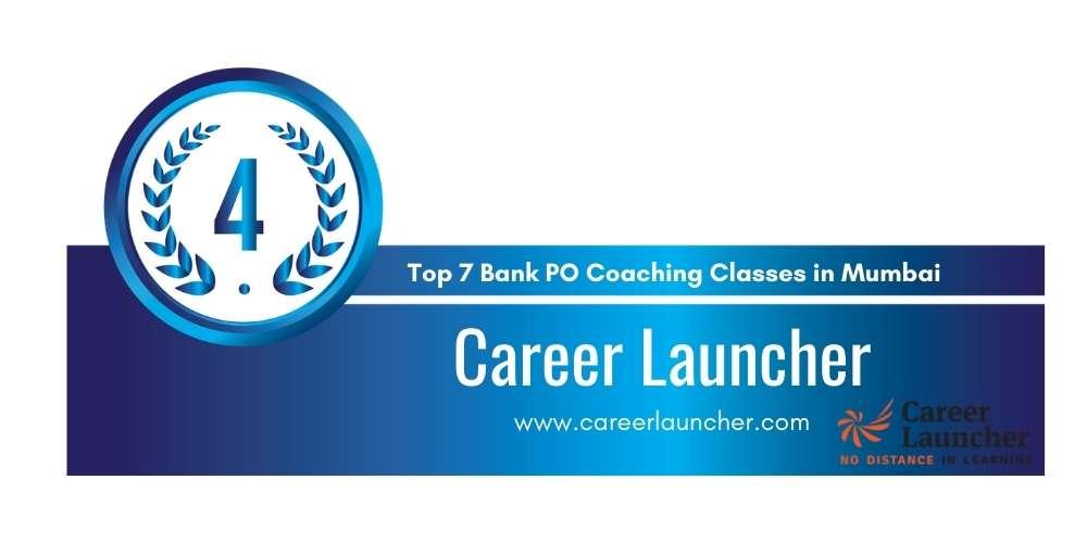 Rank 4 in Top 7 Bank PO Coaching Classes in Mumbai.