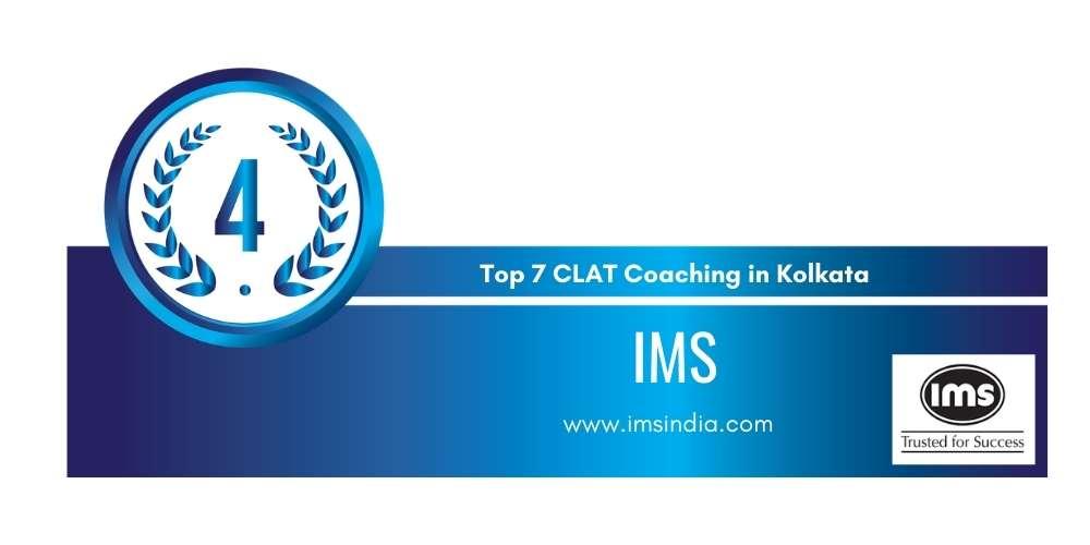 Rank 4 in Top 7 CLAT Coaching in Kolkata.