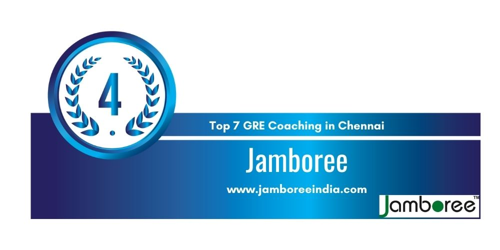Rank 4 in Top 7 GRE Classes in Chennai