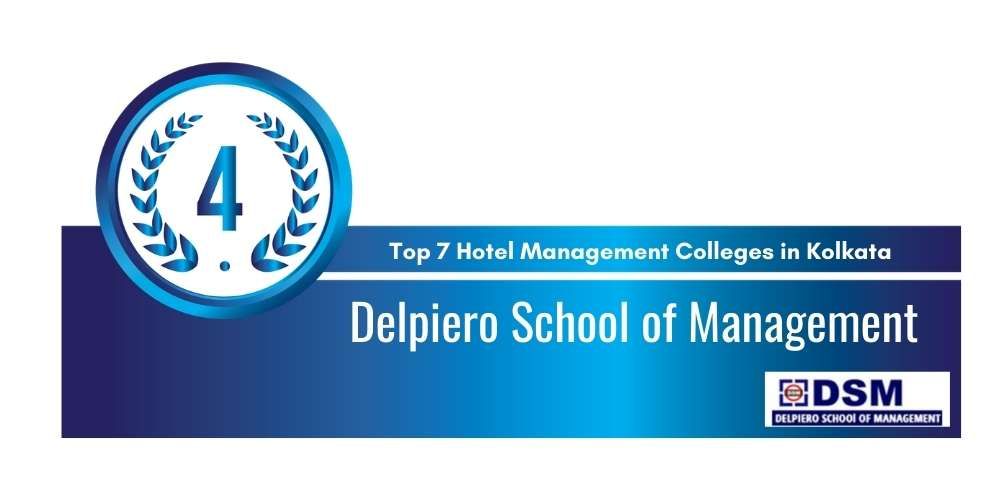 Rank 4 in Top 7 Hotel Management Colleges in Kolkata.