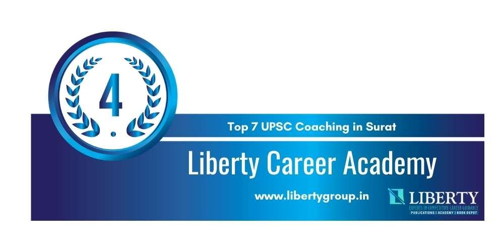 Rank 4 in Top 7 UPSC Coaching in Surat.