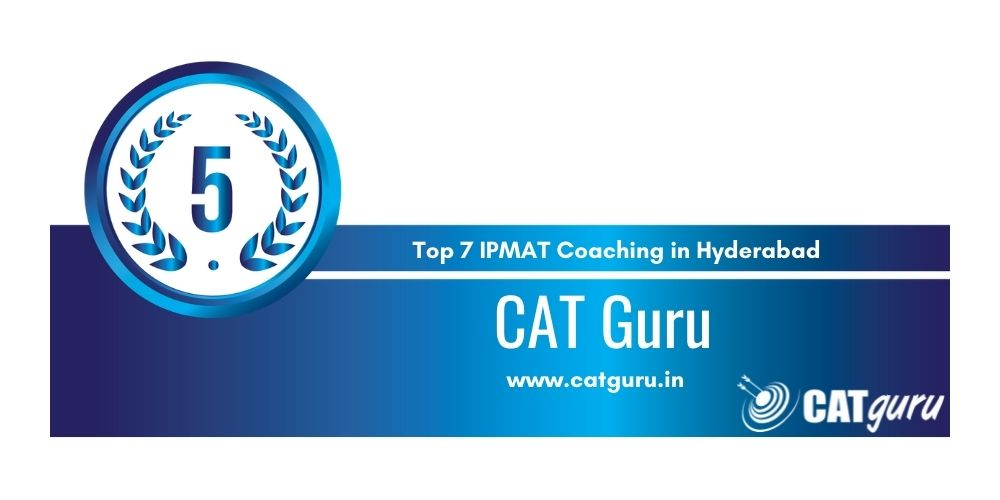 CAT Guru Hyderabad at Rank 5