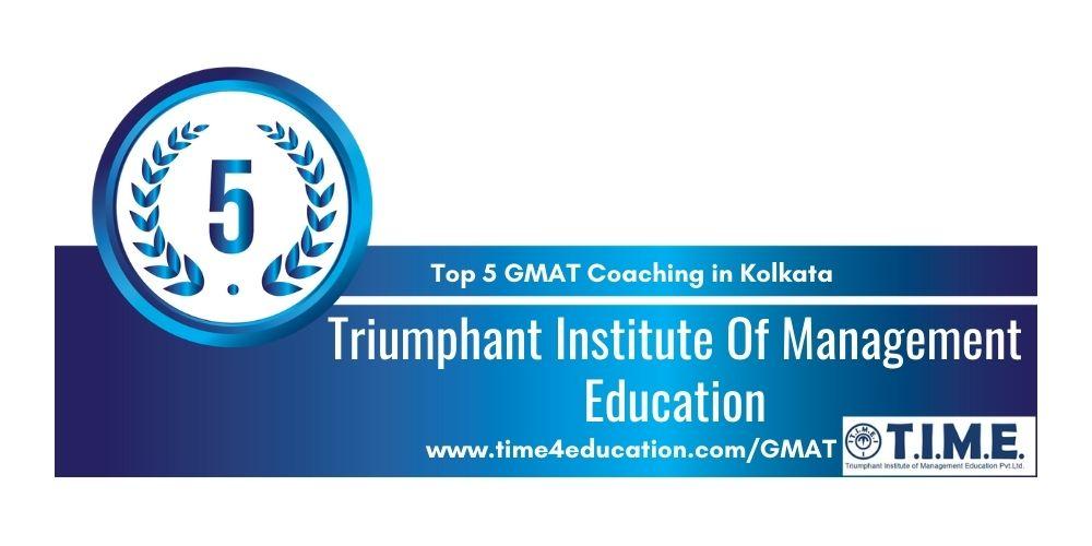T.I.M.E for GMAT prepration