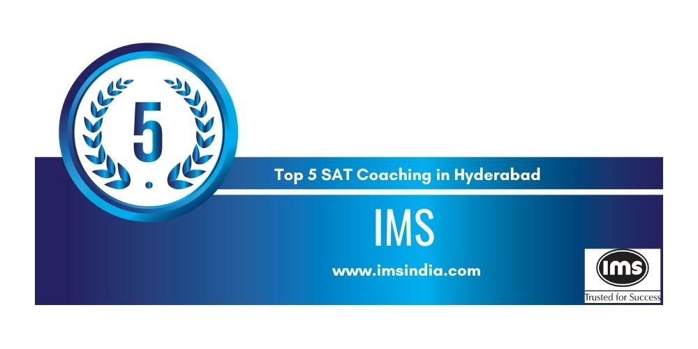 Rank 5 in Top 5 SAT Coaching in Hyderabad