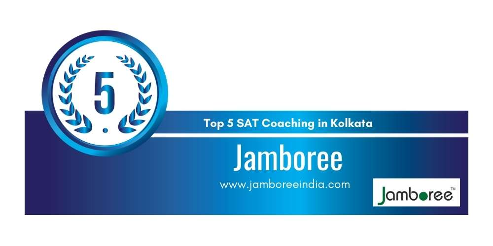 Rank 5 in Top 5 SAT Coaching in Kolkata.