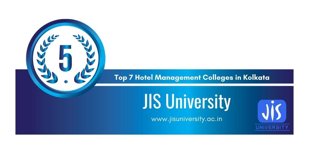Rank 5 in Top 7 Hotel Management Colleges in Kolkata.