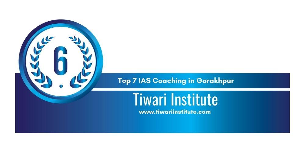 Rank 6 IAS Coaching in Gorakhpur