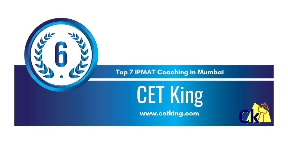 CET King Mumbai at Rank 6