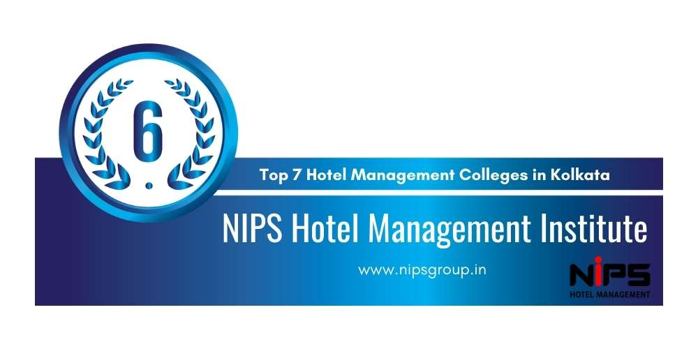 Rank 6 in Top 7 Hotel Management Colleges in Kolkata.