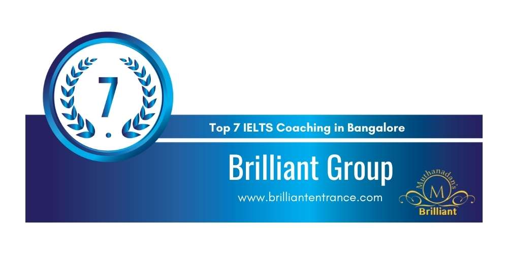 Rank 7 in Top 7 IELTS Coaching in Bangalore.