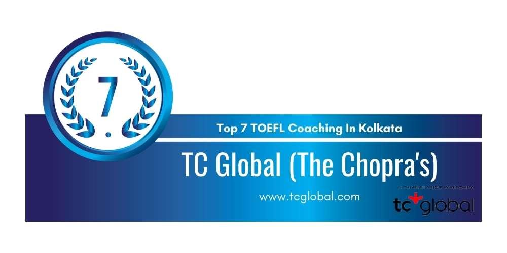Rank 7 in Top 7 TOEFL Coaching in Kolkata.