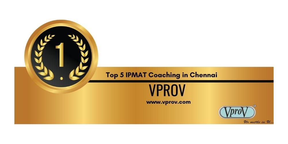 IPMAT Coaching in Chennai Rank 1