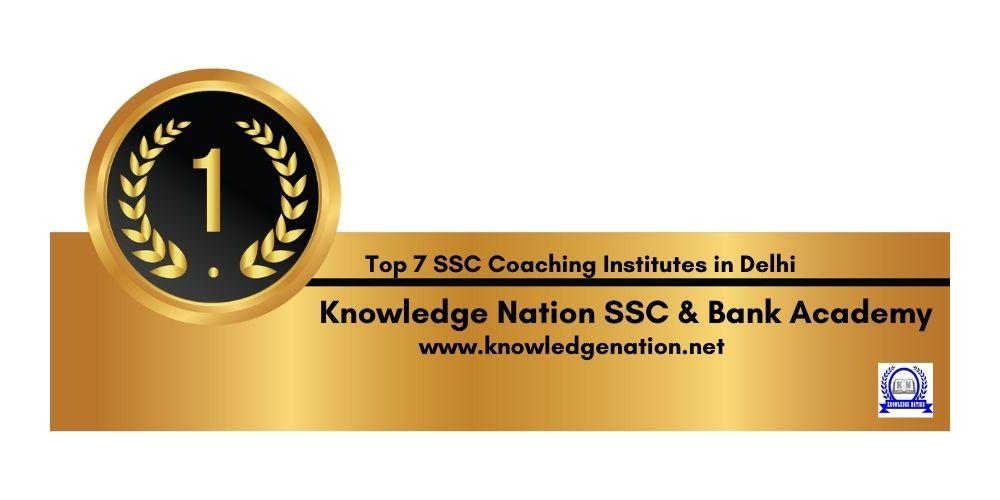 Rank 1 Best SSC Coaching in Delhi