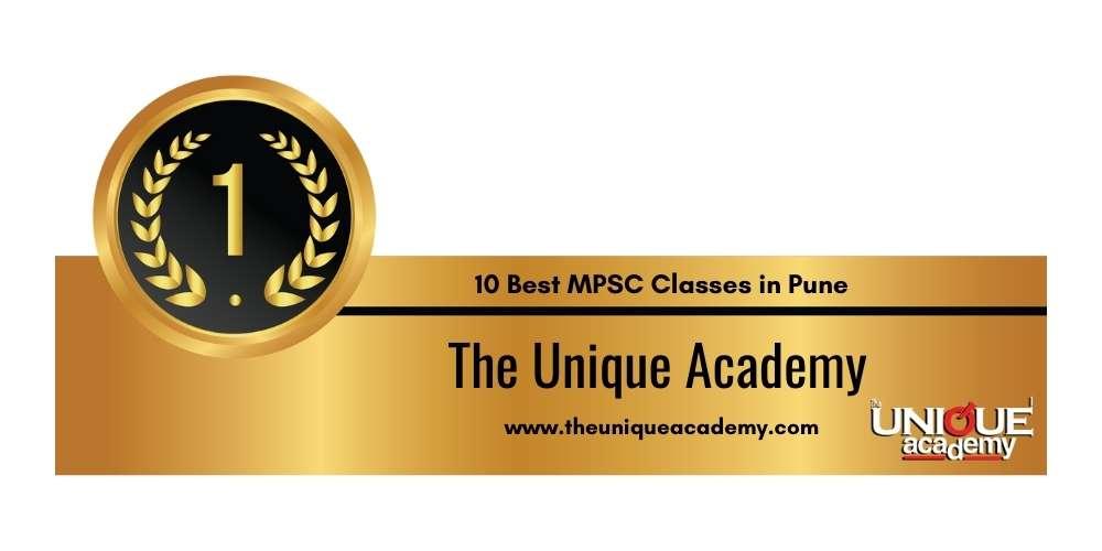 Rank 1 in 10 Best MPSC Classes in Pune