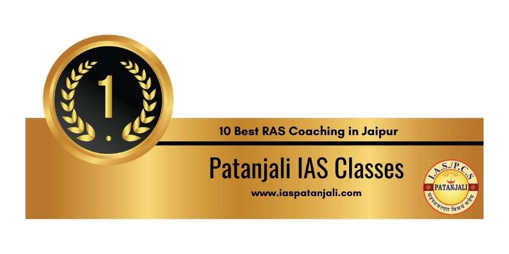 Rank 1 in 10 Best RAS Coaching in Jaipur