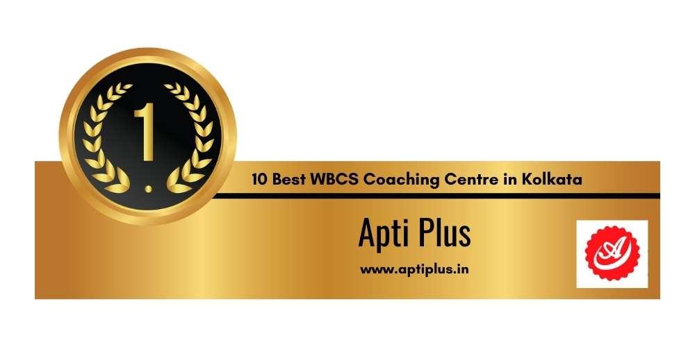 Rank 1 in 10 Best WBCS Coaching Centre in Kolkata
