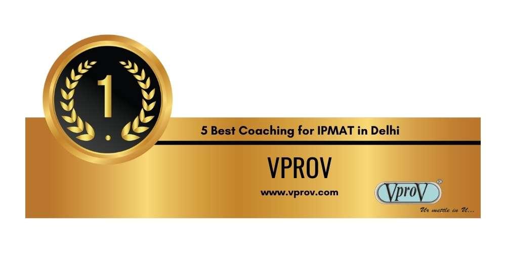 Rank 1 in 5 Best Coaching for IPMAT in Delhi