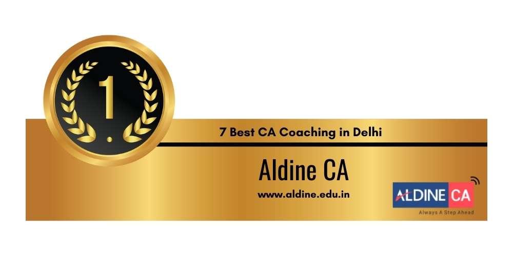 Rank 1 in 7 Best CA Coaching in Delhi