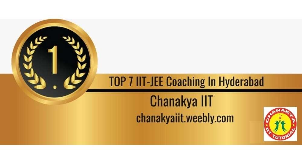 Rank 1 in Top 7 IIT JEE Coaching in Hyderabad