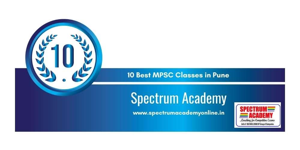 Spectrum Academy Pune at Rank 10
