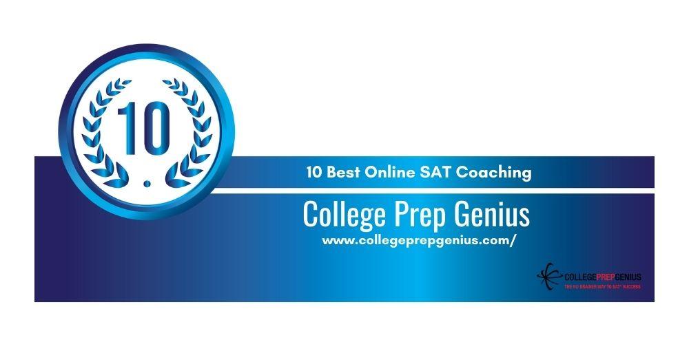 Rank 10 online sat coaching