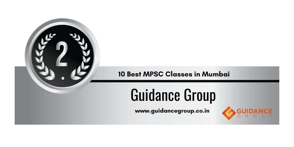 Rank 2 in 10 Best MPSC Classes in Mumbai