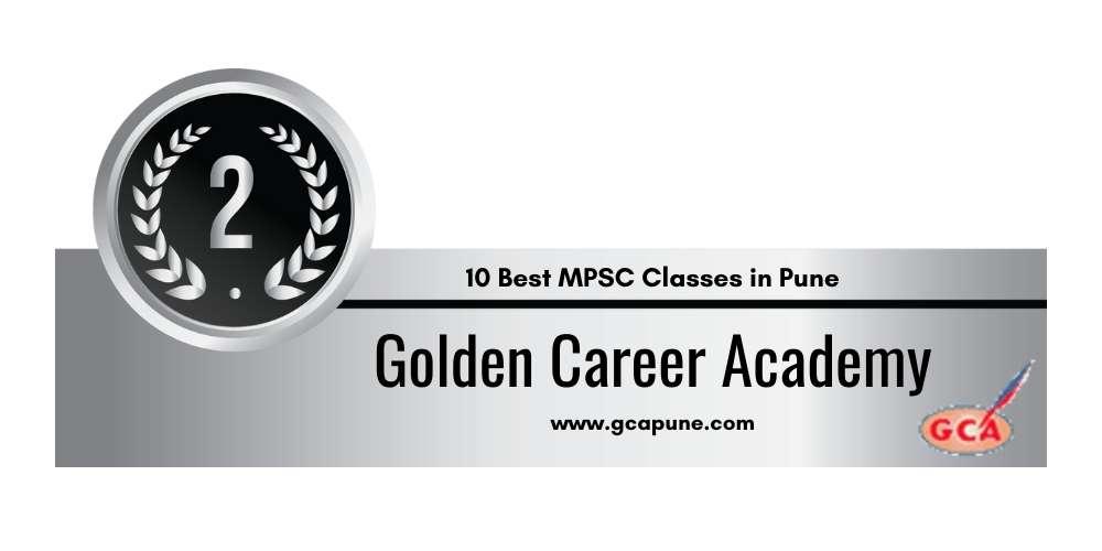Rank 2 in 10 Best MPSC Classes in Pune