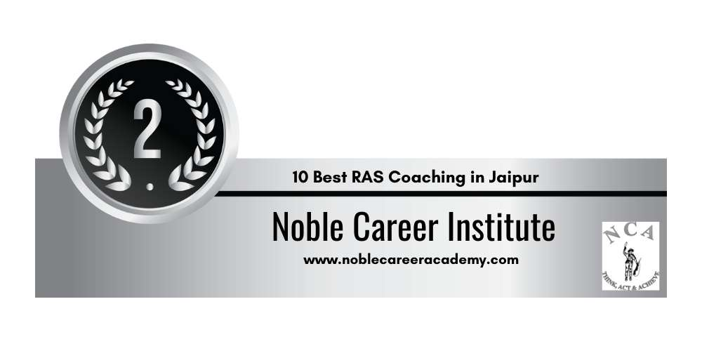 Rank 2 in 10 Best RAS Coaching in Jaipur