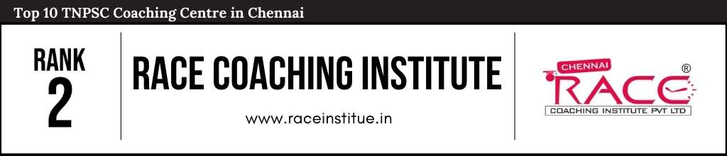 Rank 2 in Top 10 TNPSC Coaching Centre in Chennai