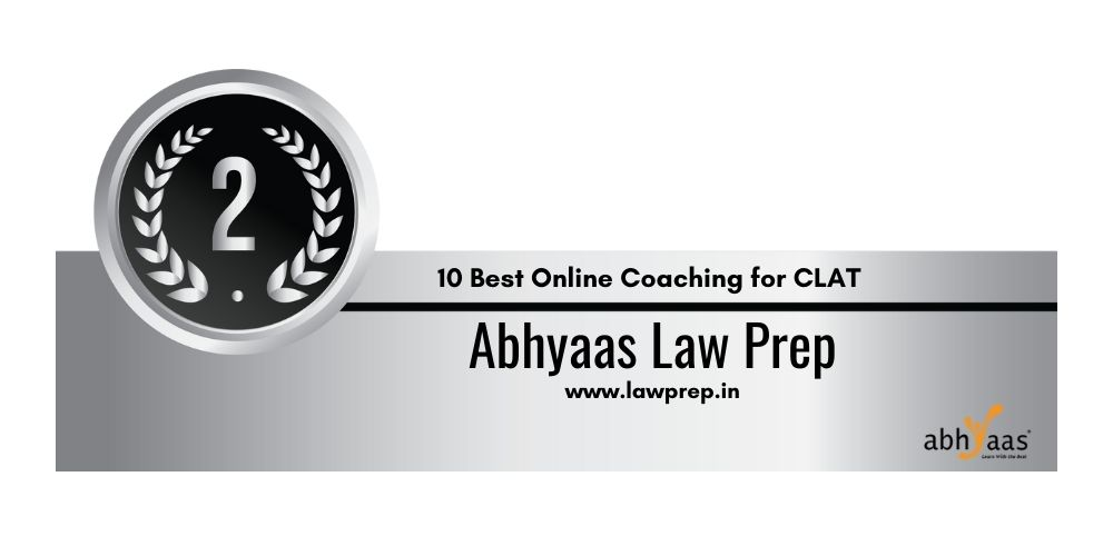 Rank 2 online coaching for clat