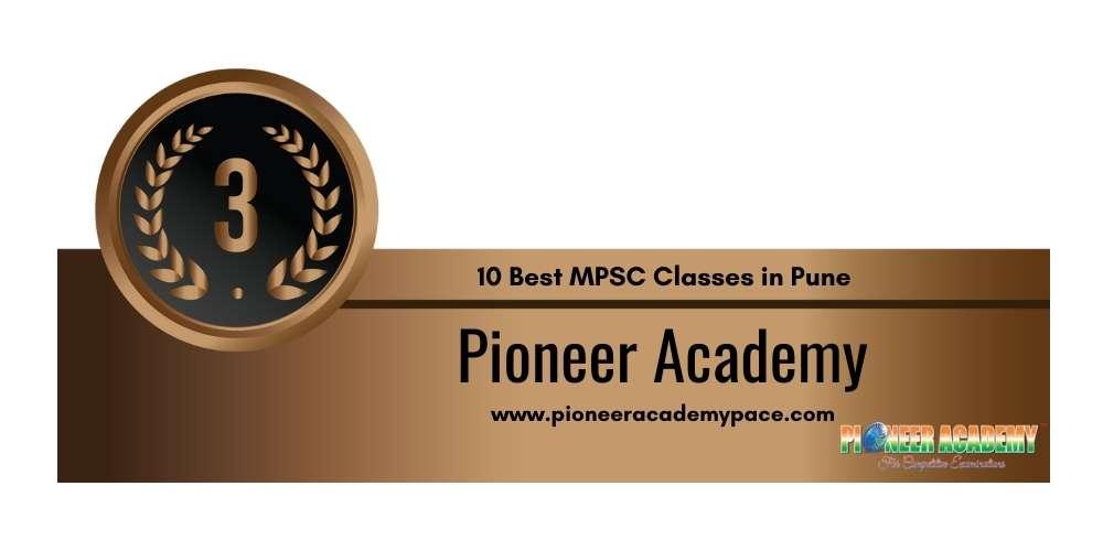 Rank 3 in 10 Best MPSC Classes in Pune